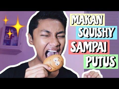 MAKAN SQUISHY SAMPAI PUTUS!!! (super extreme squishy dares) | BAHASA INDONESIA