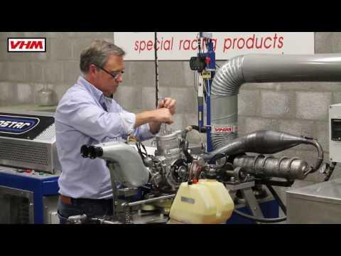 VHM Dyno test TM KZ10B with VHM pistons in 2015