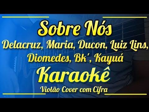 Sobre Nós, Poesia Acústica #2  - Karaokê ( Violão cover com cifra )