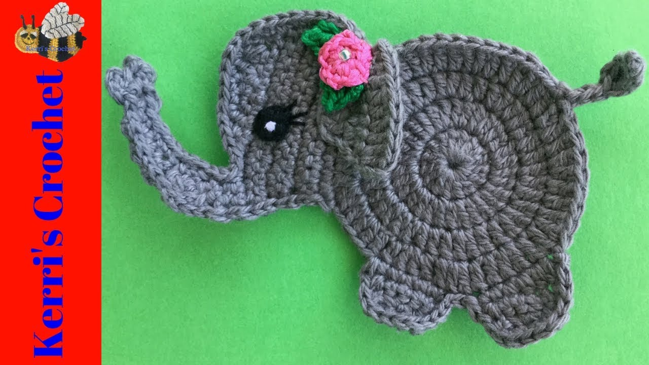 Adorable Elephant (Free Crochet Pattern) – One Zero Crochet | 720x1280
