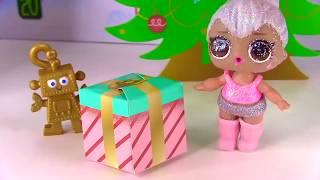 новогодние Сюрпризы на Старый Новый Год от Куклы Лол Сюрприз Мультик -  Все серии подряд