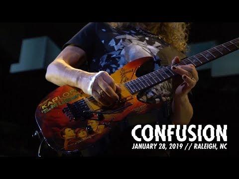 Metallica: Confusion (Raleigh, NC - January 28, 2019)