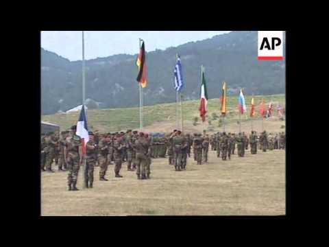 ALBANIA: NATO TROOPS MILITARY EXERCISES LATEST