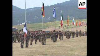 ALBANIA: NATO TROOPS MILITARY EXERCISES LATEST