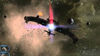 The Most Beautiful Explosions in Space RTS History. Haegemonia in Full HD (1080p)
