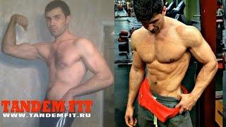 Трансформация тела без стеройдов. Натуральный бодибилдинг. Моя история.
