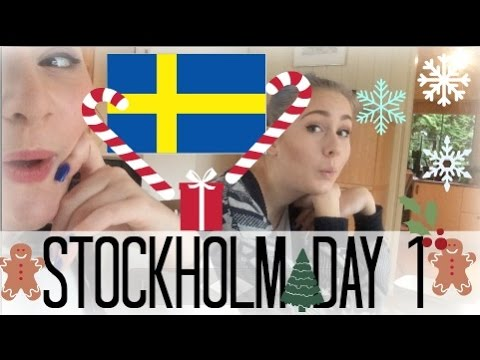 Stockholm Day 1 (Traveling Train fun)