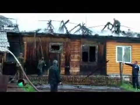 Пожар в Кикнуре