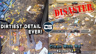 Deep Cleaning The NASTIEST Vehicle I've Ever Seen! | Clean With Me Ep 12 | INSANE Disaster Detail!