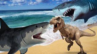 Сборник. АКУЛЫ и ДИНОЗАВРЫ. Мультфильмы про акул на русском языке