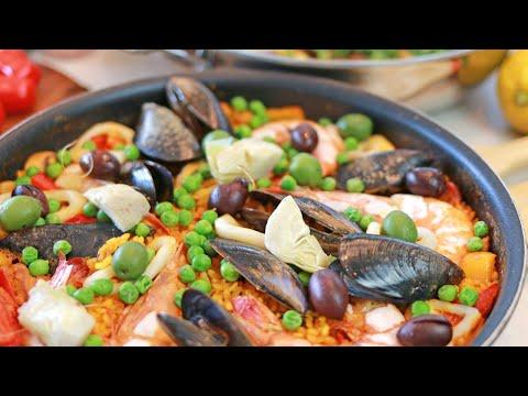 Super Quick! Homemade Paella & Vegan Paella :: Chef's Choice