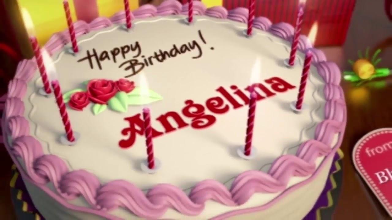 Happy Birthday Angelina Youtube