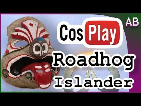 Make Pro-Resin Mask for Cosplay Tutorial - Roadhog Islander Overwatch