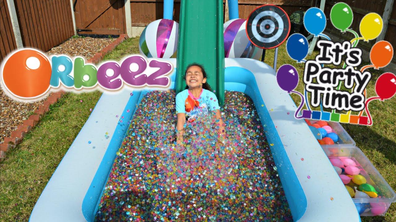Orbeez Pool Party Toys Andme Funnydog Tv