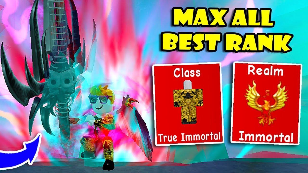 I Got Max All Best Ranks Immortal Realm Class 1 In Op Ninja
