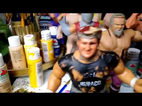 WWF LJN Customs: How to Cut Limbs and Attach Them