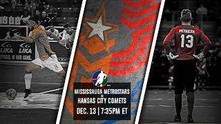 Mississauga MetroStars vs Kansas City Comets