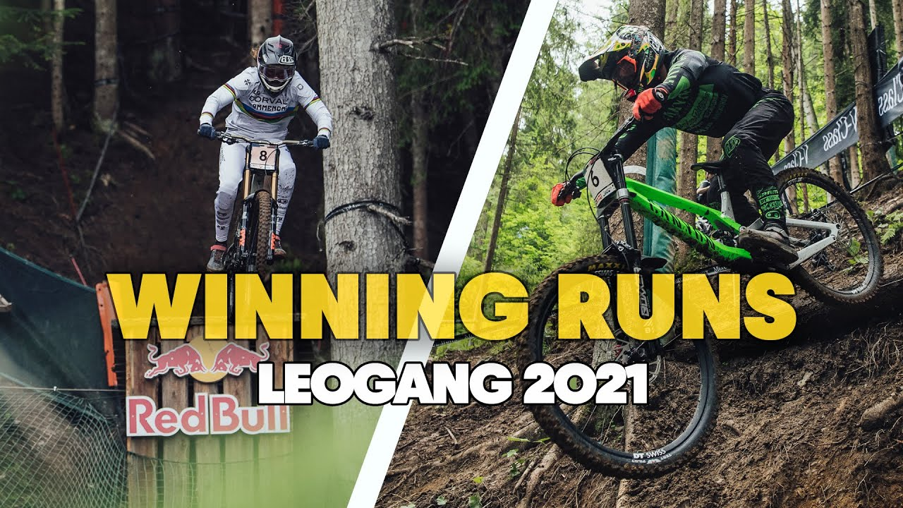 The First Winning Runs of 2021 | UCI Downhill MTB World Cup Leogang