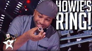 Smoothini Does Magic With Howie's Ring! America's Got Talent | Magicians Got Talent