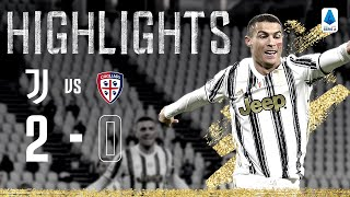 Juventus 2-0 Cagliari | Ronaldo Brace Launches Juventus up the Table! | Highlights