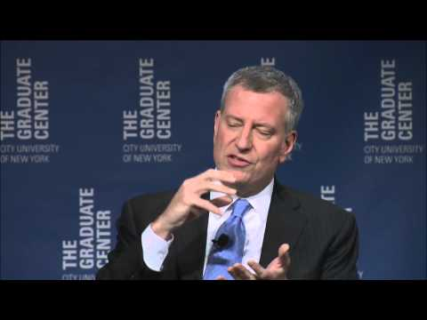 Inequality in NYC and Beyond: Mayor Bill de Blasio in Conversation with Paul Krugman