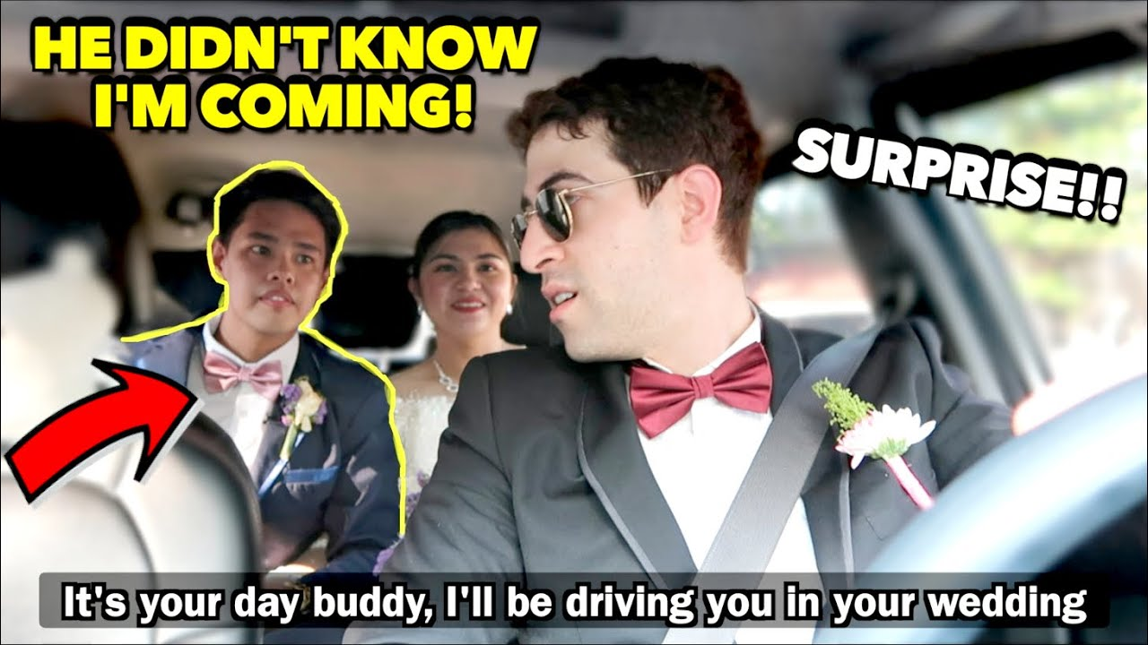 """Download I'm Driving for My """"Personal DRIVER'S WEDDING"""" And A SURPRISE Gift! *Emotional* 🇵🇭"""
