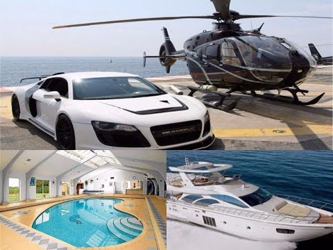 Neymar's House, Cars Collection, Yacht and Helicopter 2017