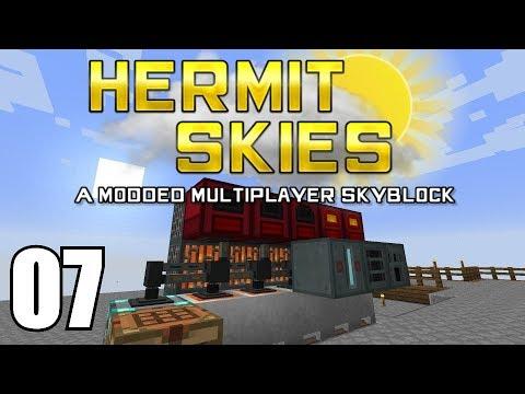 Hermit Skies 07 | Lava Power | Modded Minecraft Project Ozone Lite