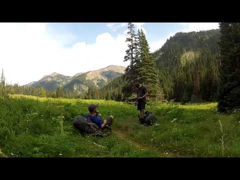 Backpacking Olympic Mountains w/ GoPro