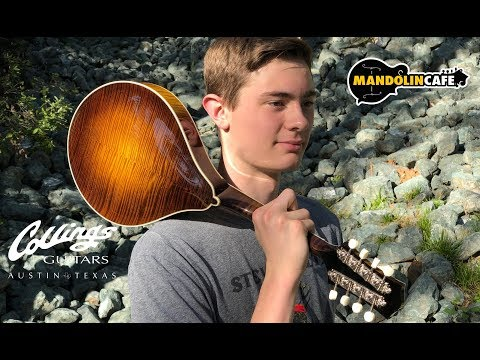 Kyle Ledson wins a Collings MT2 from Mandolin Cafe & Collings Guitars