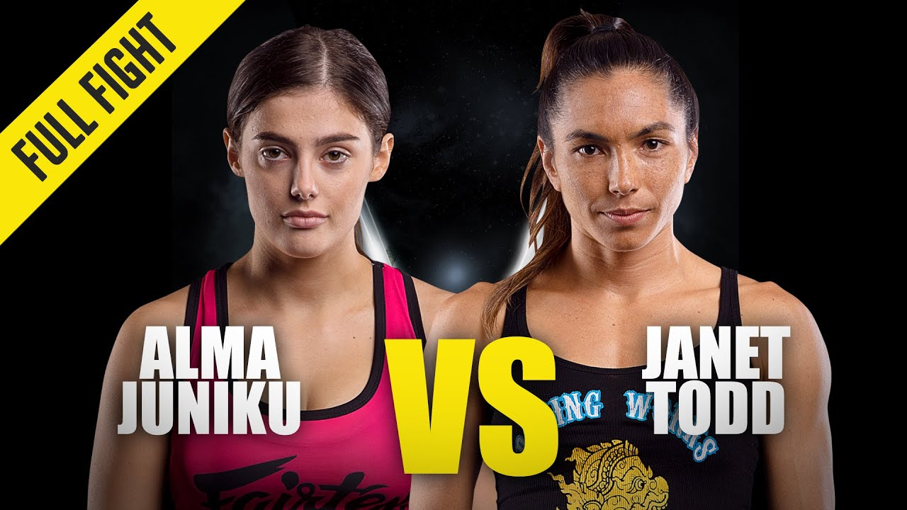 Alma Juniku vs. Janet Todd   ONE Championship Full Fight