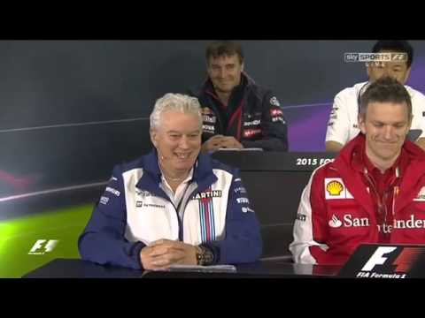 F1 2015 Chinese GP Team personnel press conference