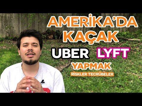 Turist Vizesiyle Amerika'da Nasıl UBER LYFT Yapıyorlar | Amerika'da Yaşam