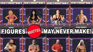 WWE Wresting Figures That Mattel May NEVER Make!