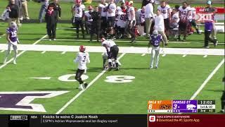 Oklahoma State vs Kansas State Football Highlights