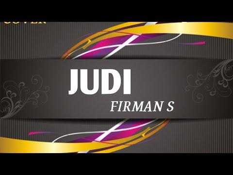 JUDI Cover - FIRMAN S