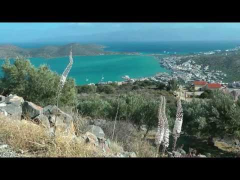 GREECE CRETE (KRETA) Plaka, Elounda & Spinalonga (hd-video)