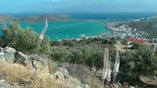 GREECE CRETE (KRETA) Plaka, Elounda & Spinalonga (hd-video)(This island near Agios Nikolaos was used as a leper colony from 1903 tot 1957. There is a causeway from Elounda., 2014-11-05T12:47:19.000Z)