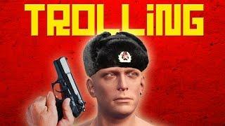 SURPRISE Russian Spy - Rust Trolling