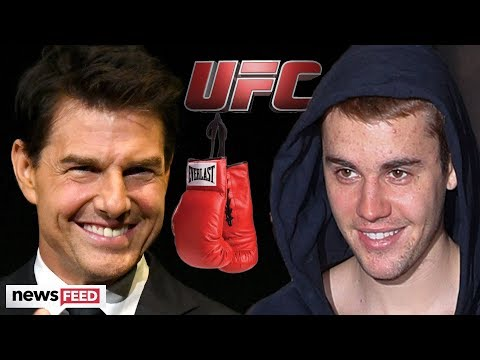 Justin Bieber AGREES To Take On Tom Cruise In UFC Match!