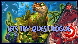 Hearthstone: Lets try quest rogue