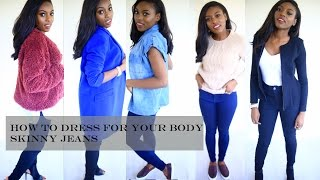 HOW TO DRESS FOR YOUR BODY SHAPE | THE SKINNY JEAN Thumbnail