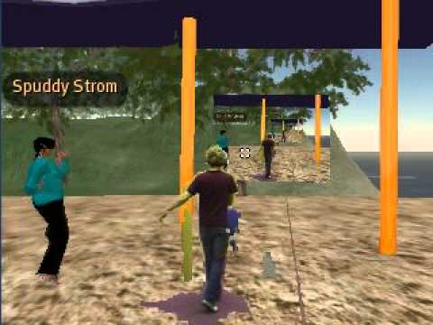 Augmented Virtuality Dancin