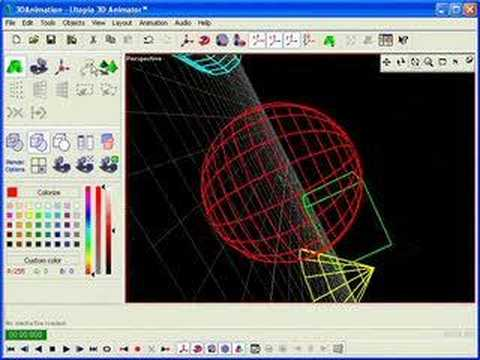 Utopia 3d Laser Animation Software Easy To Use Youtube