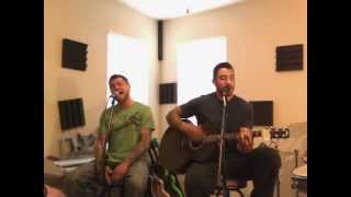 Running Away Hoobastank Acoustic Guitar and Vocal Cover