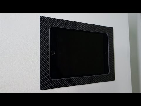 iWalldock Fixed iPad/Android Tablet Flush In-Wall Smart Home Touchscreen Control Mount
