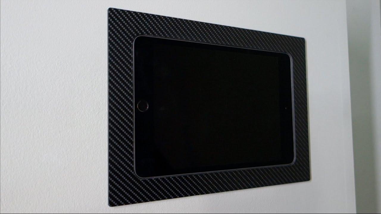 Iwalldock Fixed Ipad Android Tablet Flush In Wall Smart