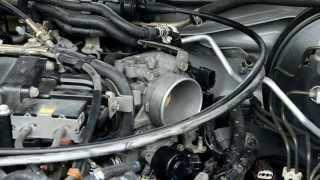 Чистка дроссельной заслонки на Nissan Maxima