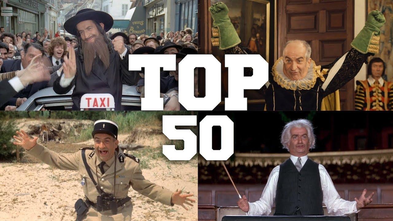 TOP 50 BOX OFFICE spécial Louis de Funès