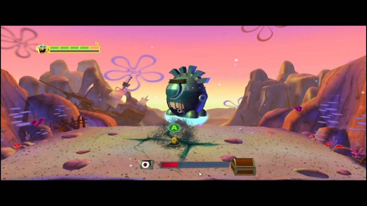 Игра губка боб планктон месть как называется оружие ниндзя черепашек